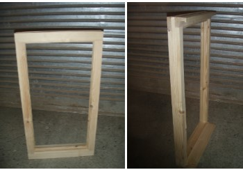 Direct Glazed, Softwood Window 570mm W x 1050mm H