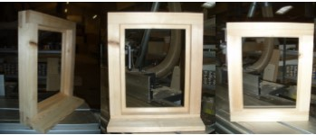 Direct Glazed, softwood Window 315mm x 520mm Including Glass