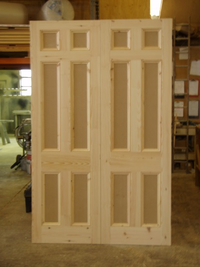 double internel doors
