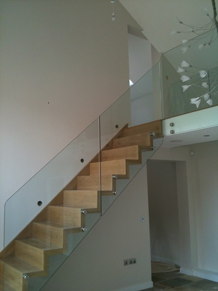 Timber and Glass staircase 3