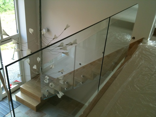 Timber and Glass staircase 4