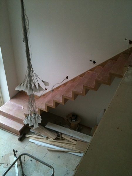 Timber and Glass staircase 1