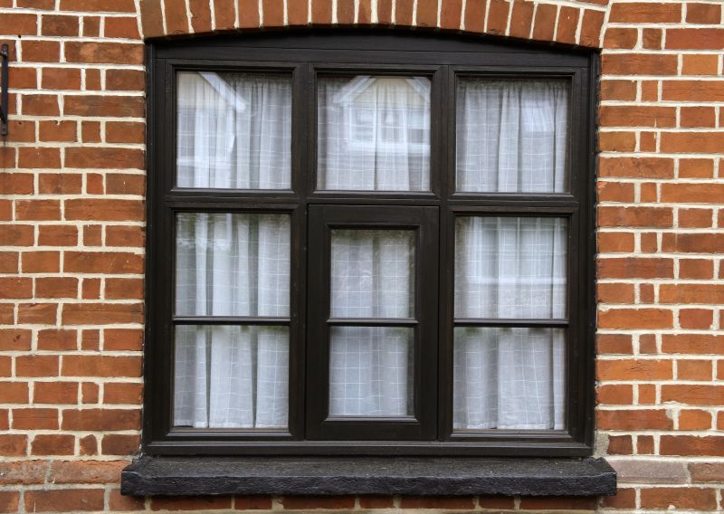 Horizontal and vertical bar window
