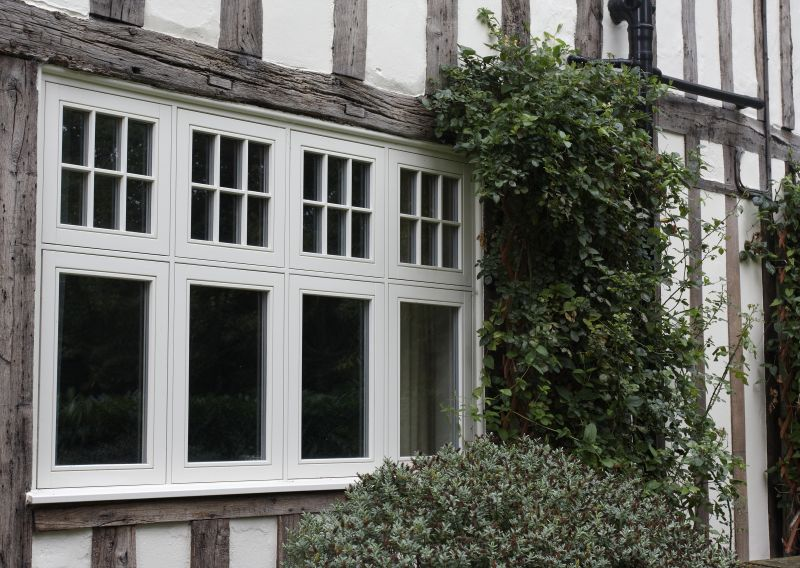 Wooden timber window