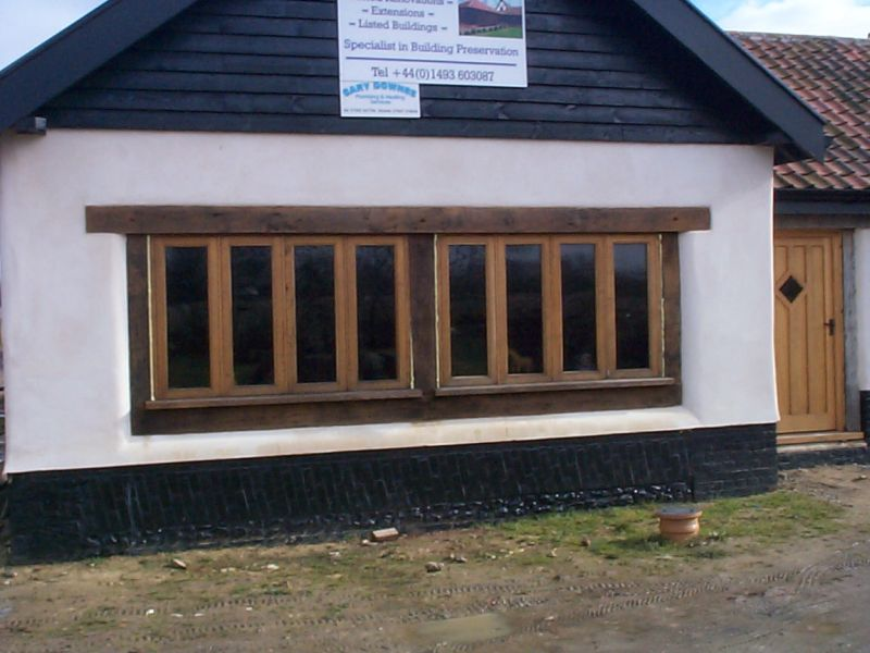 Timber frame windows