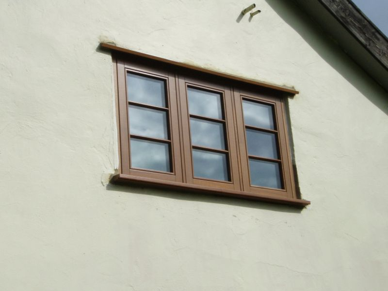 Triple casement window