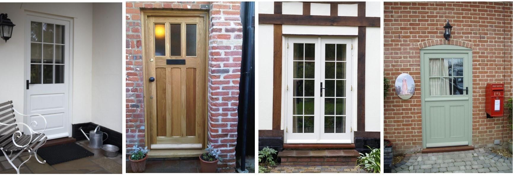 Ledge and brace oak doors - Wooden Doors